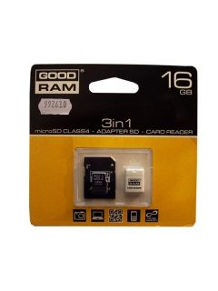 micro SD 16 GB + USB 3 in 1