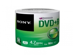 Записваем SONY DVD+R 4.7GB без кутия